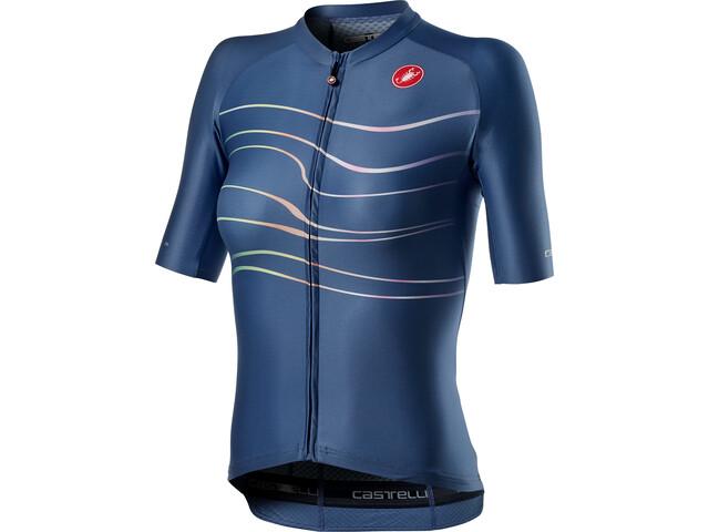 Castelli Aero Pro Jersey Women, azul